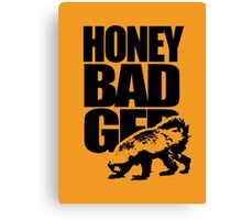 Honey Badger Canvas Print