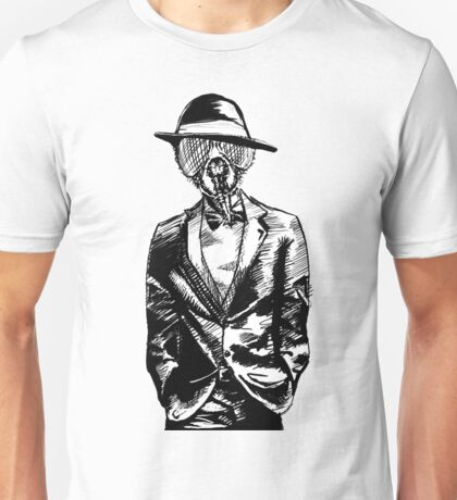 FlyFace - Black & White Unisex T-Shirt