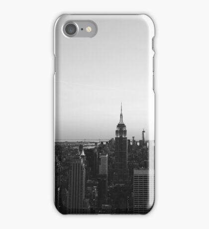 B&W NYC iPhone Case/Skin