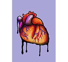 Dripping Heart II Photographic Print