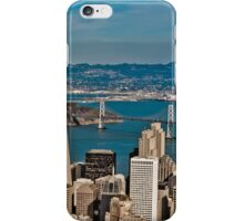 Urban Dimensions Bay Area I iPhone Case/Skin