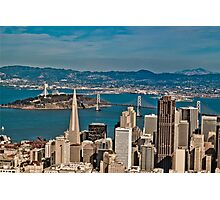Urban Dimensions Bay Area I Photographic Print