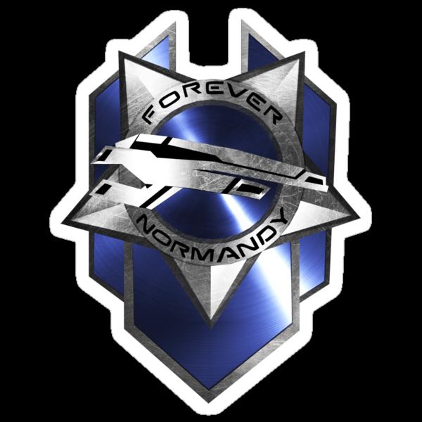 Forever Normandy Badge by Allen Blair III