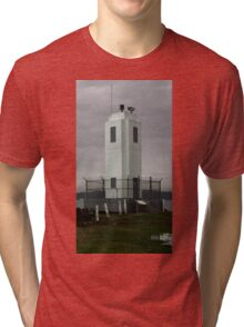 Browns Point Lighthouse, Tacoma, Washington Tri-blend T-Shirt