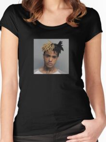 XXXTentacion Mugshot Women's Fitted Scoop T-Shirt