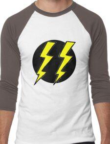 Vintage TWO FURY logo Men's Baseball ¾ T-Shirt