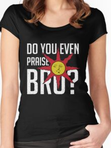 Do You Even Praise, Bro Women's Fitted Scoop T-Shirt