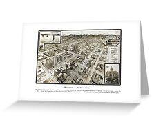 Houston - Texas - United States - 1912 Greeting Card