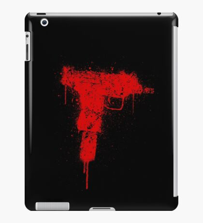 UZI -red- iPad Case/Skin