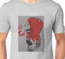 red tattoo girl  Unisex T-Shirt