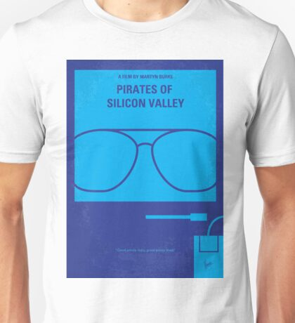No064 My Pirates of Silicon Valley minimal movie poster Unisex T-Shirt