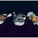 Angler Fish Reading Books by didielicious