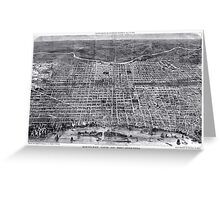 Philadelphia - Pennsylvania - United States - 1872 Greeting Card