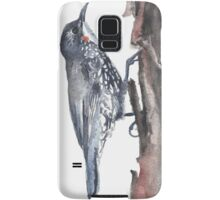 White-throated Treecreeper Samsung Galaxy Case/Skin
