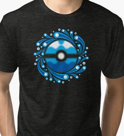 Dive Ball Splash Tri-blend T-Shirt