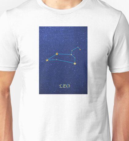 Constellations - LEO Unisex T-Shirt
