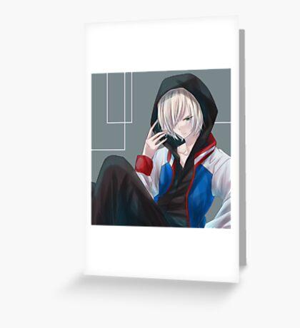 Yuri on ice  Greeting Card