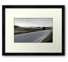 29.10.2014: Countryside Landscape Framed Print