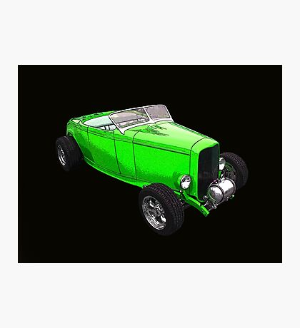 Little Green Roadster Photographic Print