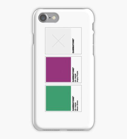 The Colorists - GAMMATONE iPhone Case/Skin