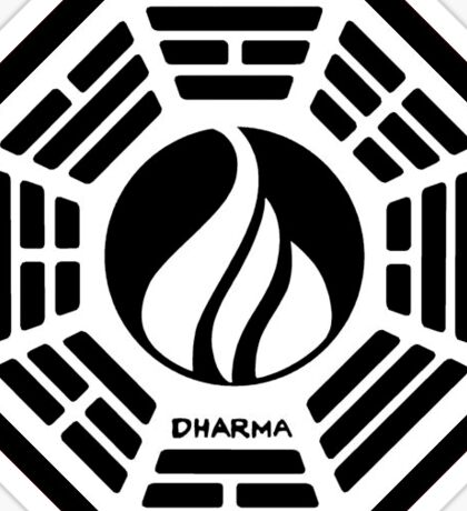 The Dharma Initiative - The Flame Station Sticker
