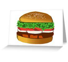 Extreme Burger Greeting Card