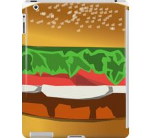 Extreme Burger iPad Case/Skin