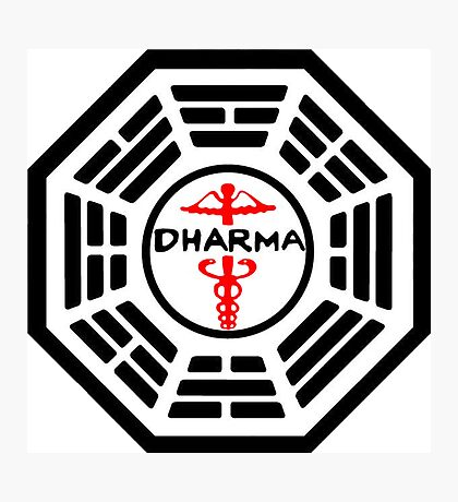 The Dharma Initiative - The Staff Station Photographic Print