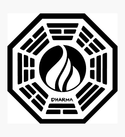 The Dharma Initiative - The Flame Station Photographic Print