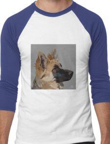 German Shepherd Dog Men's Baseball ¾ T-Shirt