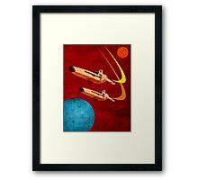 Galactica Framed Print