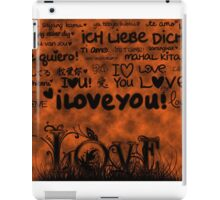 The Language of Love iPad Case/Skin
