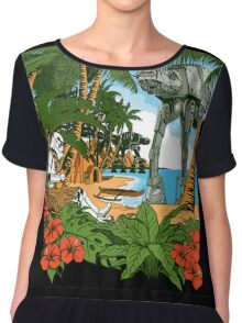 Greetings from Scarif Chiffon Top