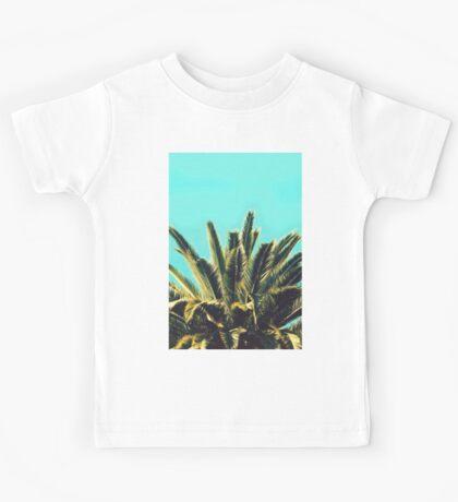 Tropical Palm Leaves Kids Tee