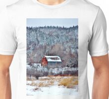 The Colourful Trappings of Winter Unisex T-Shirt