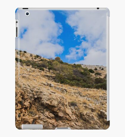 High mountain with blue sky iPad Case/Skin