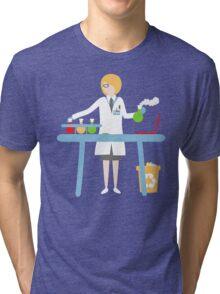 Scientist at work Tri-blend T-Shirt