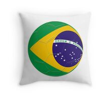 Brazil Throw Pillow