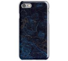 USGS TOPO Map California CA Honey Lake 299785 1891 250000 geo Inverted iPhone Case/Skin