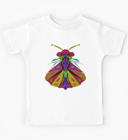 Mosaic Moth Kids Tee