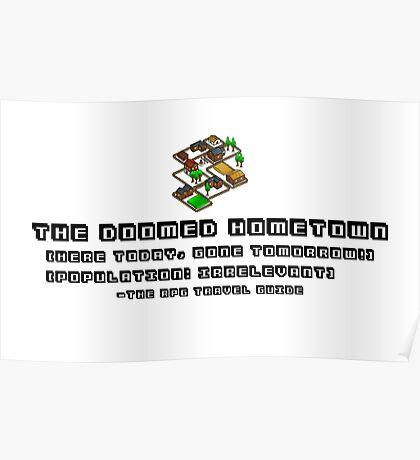 Doomed Hometown, RPG Travel Guide #2 Poster