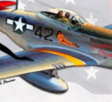 Creamer's Dream (North American P-51 Mustang) Sticker