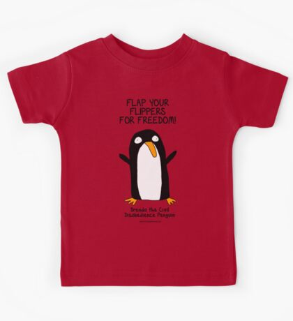 Brenda the Civil Disobedience Penguin Kids Tee