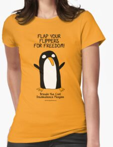 Brenda the Civil Disobedience Penguin T-Shirt