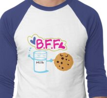 Milk and Choco chip  BFF Men's Baseball ¾ T-Shirt