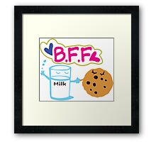 Milk and Choco chip  BFF Framed Print