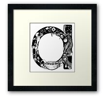 'a' is for... Framed Print