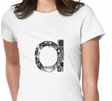 'a' is for... Womens Fitted T-Shirt