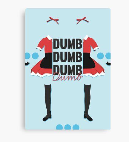 dumb, dumb, dumb, dumb - red velvet, dumb dumb Canvas Print