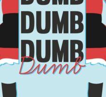 dumb, dumb, dumb, dumb - red velvet, dumb dumb Sticker